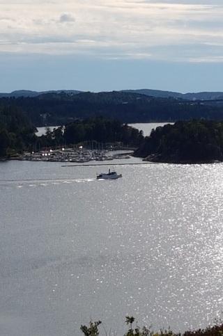 Utsikt båt